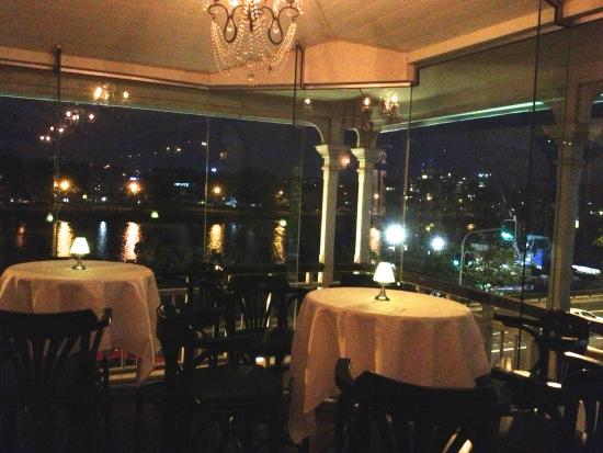 Reserve Restaurant Milton : View from upstairs.