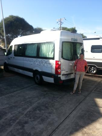 Discovery Parks - Melbourne: motorhome