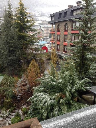 Вид из окна отеля
