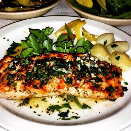 Restaurant & Grill Muralha: Filete de salmão