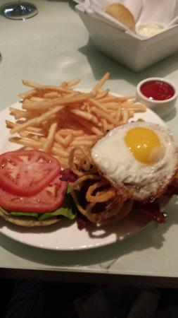 The All-American Burger at Hotel Fauchere