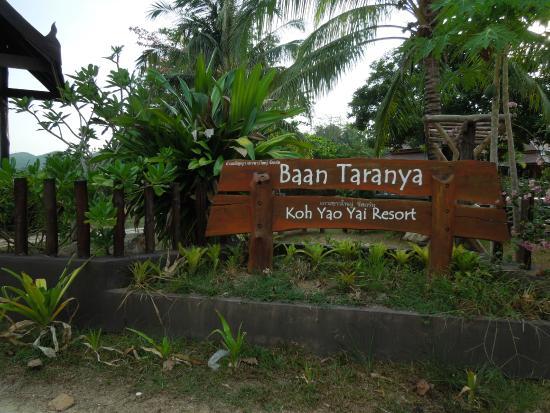 Baan Taranya Resort: resort