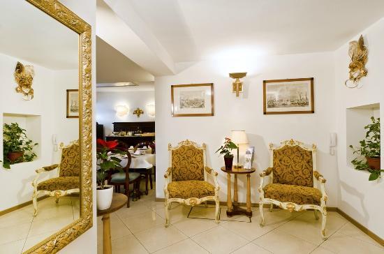 Hotel Giardinetto: Angolo zona reception