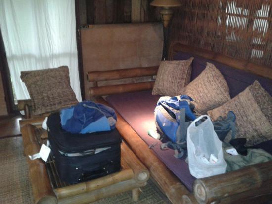 Naga Hill Resort : Salotto