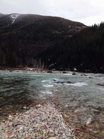 Glacier Adventure Guides - Day Tours: Flathead River lunch spot