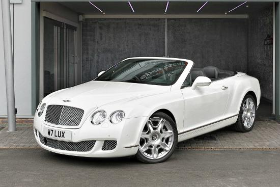 Sportscarhire: Bentley GTC 4 Seater Now Added To Fleet For 2015
