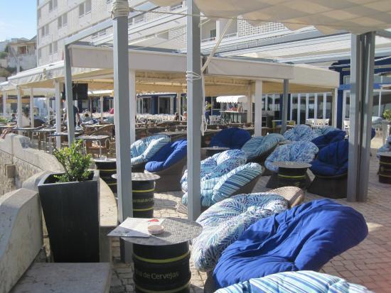 Hotel Sol e Mar : Terrace
