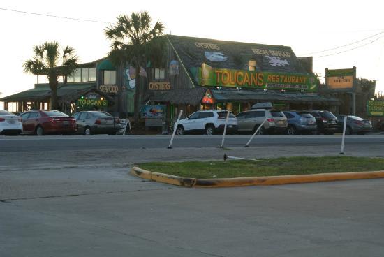Toucan S Restaurant On The Beach