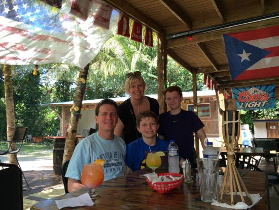 El Yunque National Forest, Puerto Rico: A stop at the Rum Shack afterward