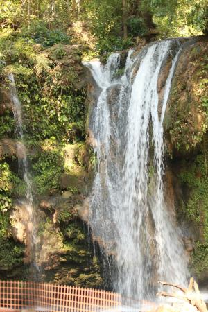 Corbett Falls: enjoy the view but no bathing