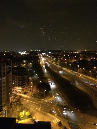 Rafaelhoteles Badalona: Vista desde la ventana