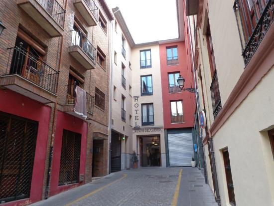 Hotel Monjas del Carmen: front of hotel