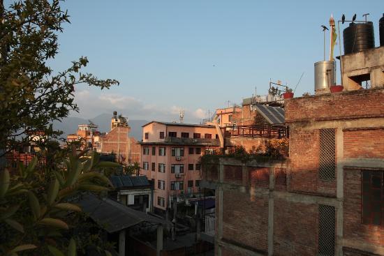 Hotel Cosmic: Вид с крыши