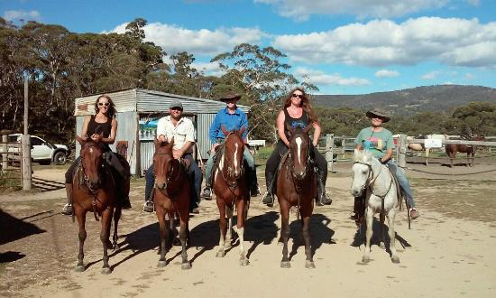 Horse Riding at Pender Lea