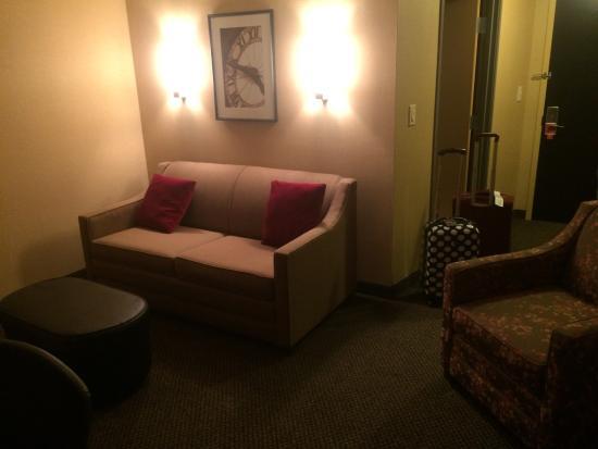 Cambria Hotel & Suites Rapid City : Living room area
