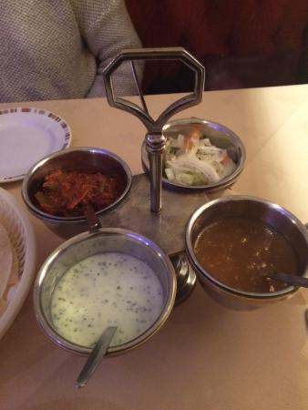 Bengal Brasserie: Mixed pickle
