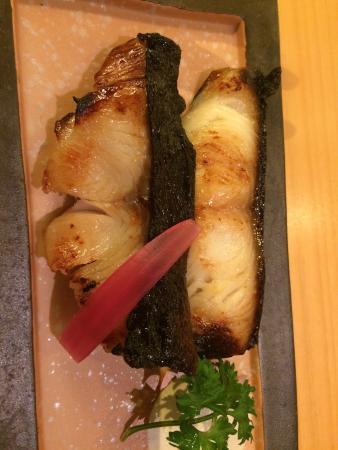 Ordered Gindara as sashimi was not enough. Gindara was too sweet
