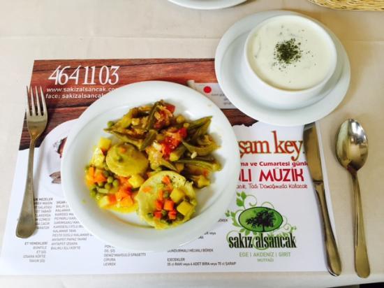 Sakiz Restaurant: Sade ve lezzetli