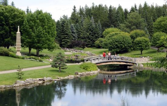 University of Alberta Botanic Garden: Kurimoto Japanese Garden, Devonian Botanic Garden, near Edmonton, Alberta