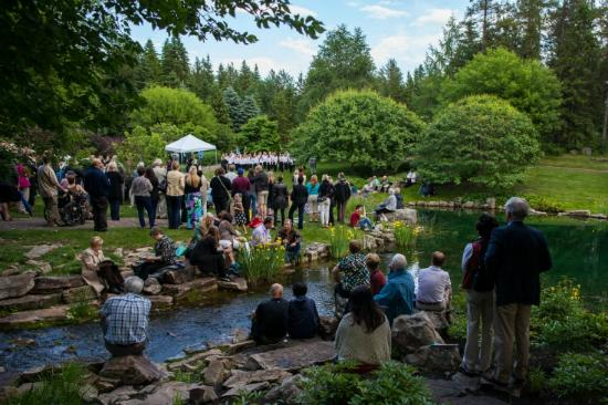 University of Alberta Botanic Garden: Annual Opera al Fresco event, Devonian Botanic Garden, near Edmonton, Alberta