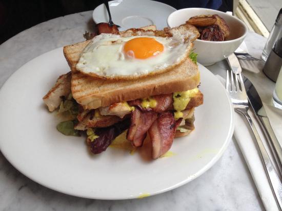 Europa : Club sandwich