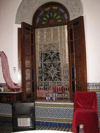 La Maison Bleue : Luxurious lobby