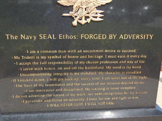 a visit to the navy seal museum As america's elite, us navy seals are constantly called for  xxiv at the  national navy udt-seal museum in fort pierce, fla  and taliban while  conducting a sensitive site exploitation mission in the jaji mountains, jan.