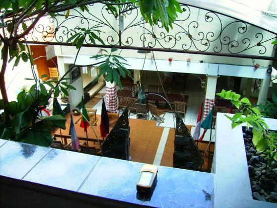 Hotel Sorga: Vue de notre balcon