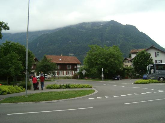Hotel Alpina: view from the hotel front
