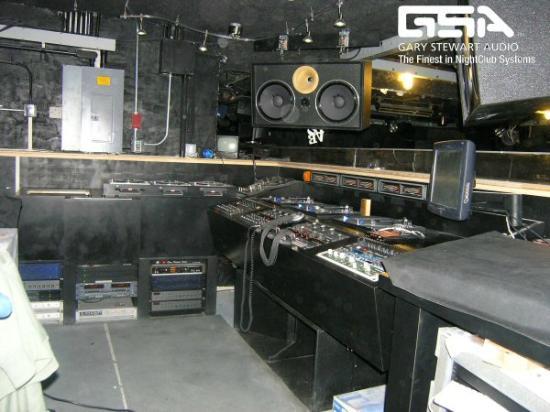 Vinyl: The DJ booth