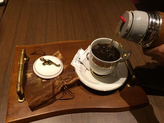 Kopi Luwak: 'kopi luwa authentic'