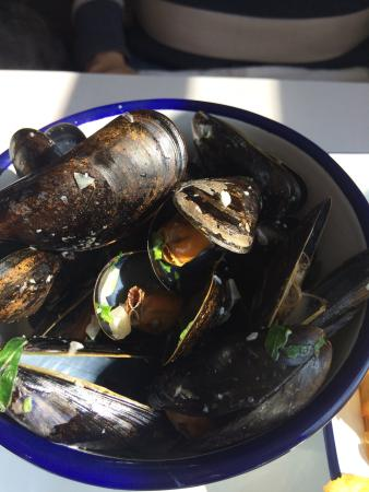 The Watch House: Beautiful mussels