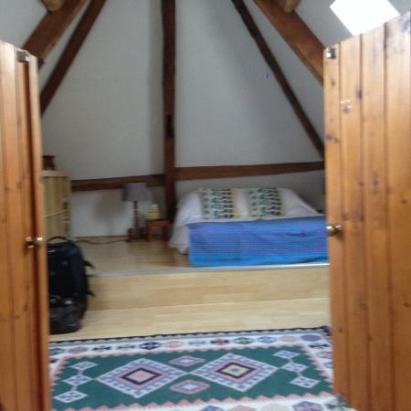 Stowford Mill Bed and Breakfast: Loft room