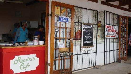 Barrydale, Sudafrica: Picture of restaurant!