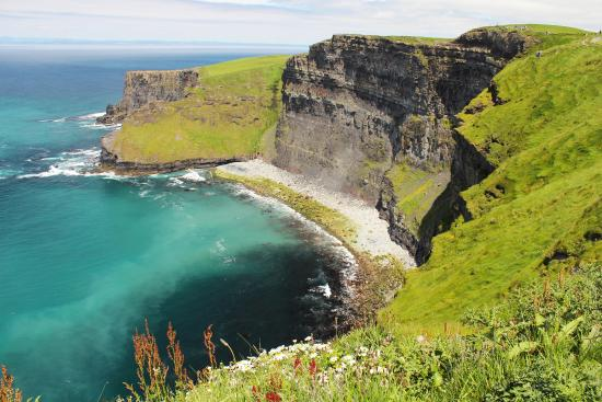 Liscannor, Irlande : Cliffs of moher