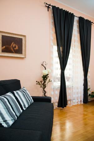 BB Eternal Rome Inn: soggiorno