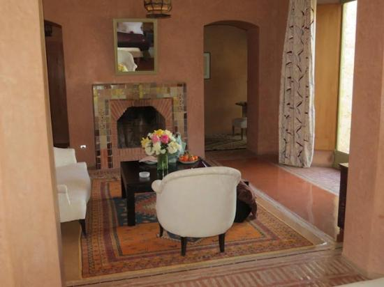 La Gazelle d'Or : Our sitting room