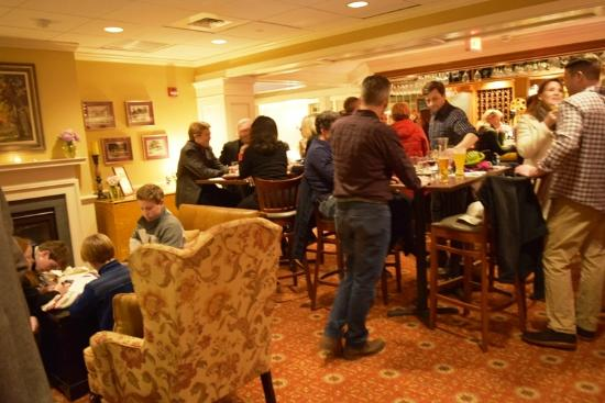 Champney's Restaurant & Tavern: A busy, happy night