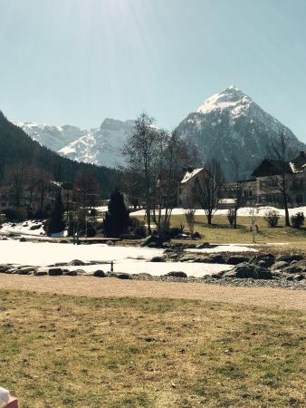 Hotel Rieser Aktiv & Spa Resort : Ausblick von der Liegewiese