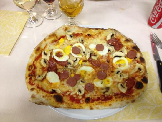 Busso, Italië: Pizza Maliviento