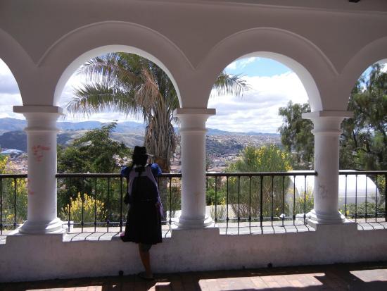 Cafe Mirador: View from the Mirador, Sucre Bolivia