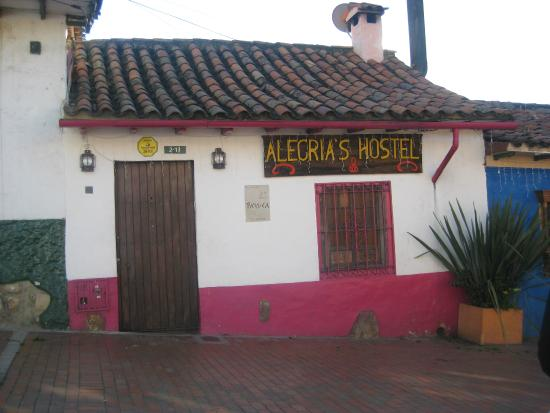 Alegria's Hostel: Außenansicht