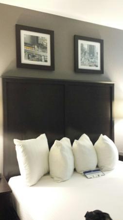 BEST WESTERN Gregory Hotel: Bed headboard with artwork overhead