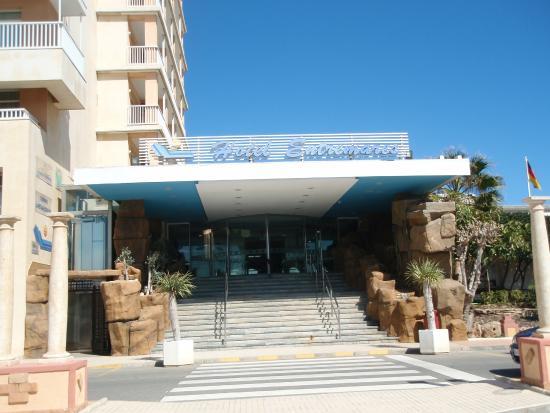Hotel Entremares: Entrada principal