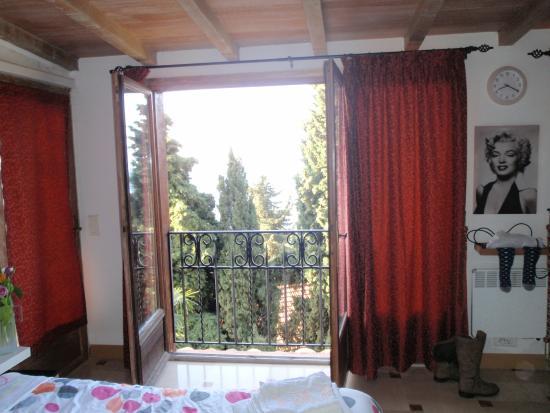 Villa Azur: View from Apt #2