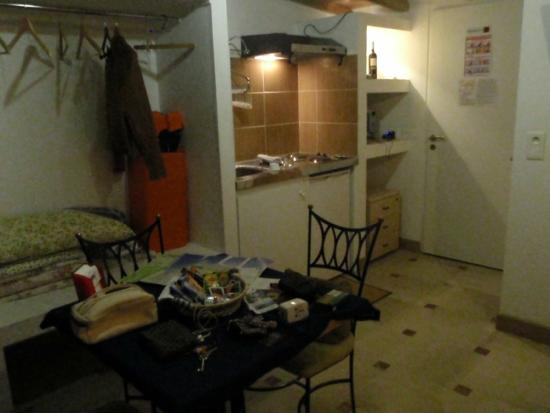 Villa Azur: Apt #2 Kitchen area