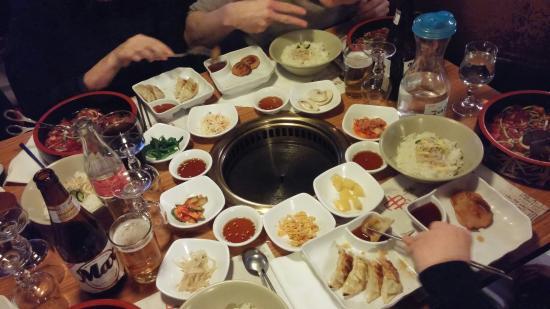 Tres Bon Restaurant Coreen A Paris