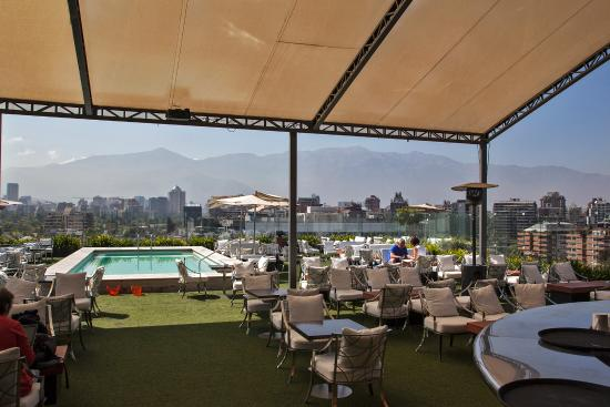 Noi Vitacura Hotel Santiago Terrace Bar Pool