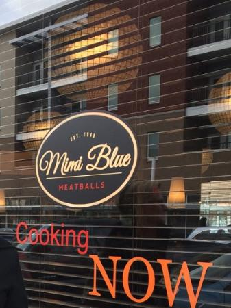 Mimi Blue Meatballs
