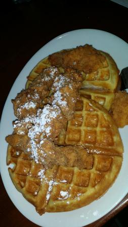 Brick House Tavern & Tap: The chicken and waffles are quite delicious